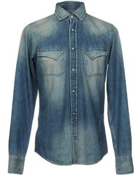 Pence | Denim Shirt | Lyst