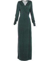 Diane von Furstenberg - Vestido largo - Lyst