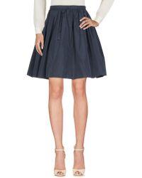 Miu Miu   Knee Length Skirt   Lyst