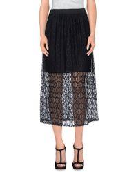 Angela Davis - 3/4 Length Skirt - Lyst
