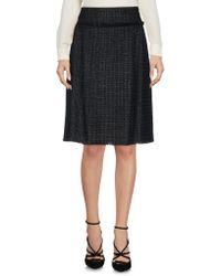 Rena Lange - Knee Length Skirt - Lyst
