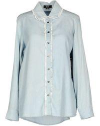 Goldie London - Denim Shirt - Lyst