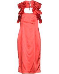 X's Milano - Knee-length Dress - Lyst
