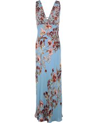 Free People - Never Too Late Printed Maxi Dress - Womens L - Lyst