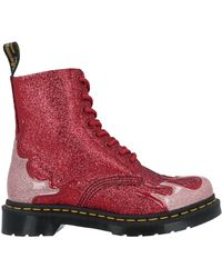 Dr. Martens Stiefelette - Rot