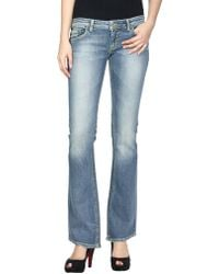 Dondup - Denim Pants - Lyst
