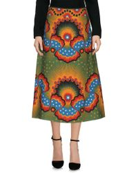 Valentino - 3/4 Length Skirts - Lyst
