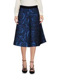 Teresa Dainelli - Knee Length Skirt - Lyst