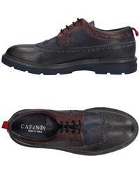 High quality and low prices Caf noir Men Laced Shoes Laced Shoes Caf noir mens Dark blue CAF NOIR Mens Laced shoes