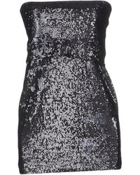 Donna Karan - Short Dress - Lyst