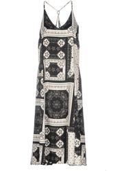 TOPSHOP - Knee-length Dress - Lyst