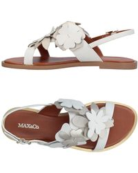 MAX&Co. - Toe Strap Sandal - Lyst