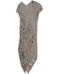 Alessandra Marchi - Knee-length Dress - Lyst