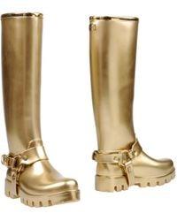 Dolce & Gabbana - Stiefel - Lyst