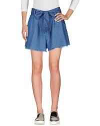Kendall + Kylie - Denim Shorts - Lyst