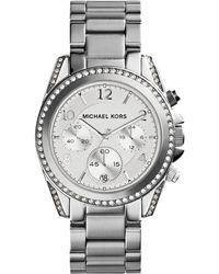 Michael Kors - Blair Chronograph Crystal Watch - Lyst