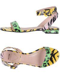 Boutique Moschino - Sandals - Lyst