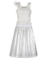 Veronique Branquinho - 3/4 Length Dress - Lyst