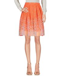 Matthew Williamson | Knee Length Skirt | Lyst