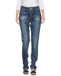 Liu Jo - Denim Pants - Lyst