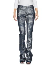 Ralph Lauren Collection   Denim Trousers   Lyst