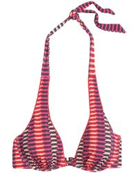 Heidi Klum - Catalina Kisses Printed Underwired Bikini Top - Lyst