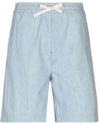 Haikure - Denim Bermudas - Lyst