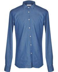 Aglini - Denim Shirts - Lyst