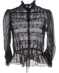 Marc By Marc Jacobs - Cherry Print Blouse - Lyst