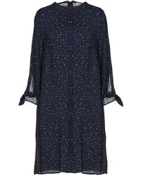 I Blues - Short Dress - Lyst