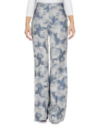 Philosophy di Alberta Ferretti - Denim Trousers - Lyst