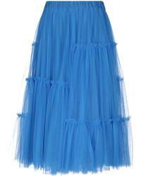 P.A.R.O.S.H. - 3/4 Length Skirt - Lyst