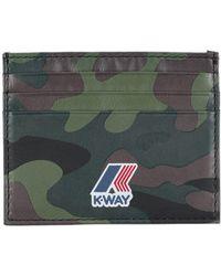K-Way - Document Holder - Lyst