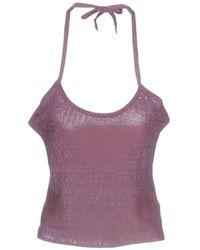 eec9d051bf697 Lyst - Fendi Top in Purple