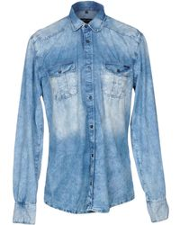 Antony Morato - Denim Shirt - Lyst
