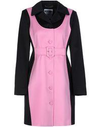 Moschino Overcoat - Pink