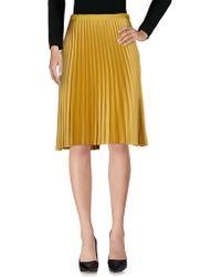 Scotch & Soda - Knee Length Skirt - Lyst