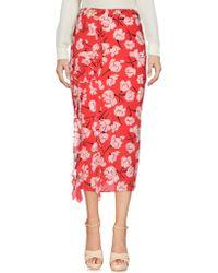 Rochas - Ruffled Detail Skirt - Lyst