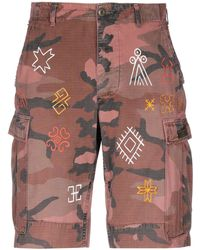 HTC - Bermuda Shorts - Lyst