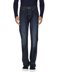 Lacoste - Denim Pants - Lyst