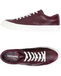 0903e3d2dd89 Converse Chuck Taylor Oxford Canvas Low Top Sneaker in Red for Men ...