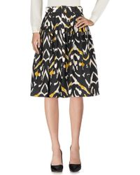 Samantha Sung - Knee Length Skirt - Lyst