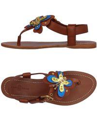 Car Shoe - Toe Post Sandal - Lyst
