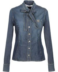 Fast Delivery DENIM - Denim shirts Elisabetta Franchi For Sale Very Cheap Cheap For Nice Nxcu0YVNMV