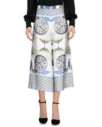 Twisty Parallel Universe - 3/4-length Trousers - Lyst