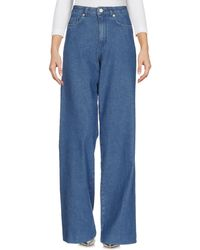 French Connection - Denim Pants - Lyst