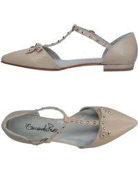 Emanuela Passeri - Ballet Flats - Lyst