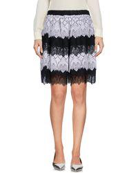 120% Lino - Knee Length Skirt - Lyst