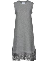 Allude - Short Dress - Lyst