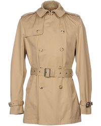 Ralph Lauren Black Label - Overcoats - Lyst